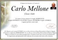 Necrologio di Carlo Mellone