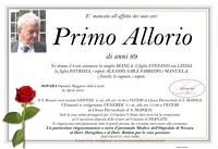 Necrologio di Primo Allorio