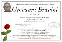 Necrologio di Giovanni Bravini