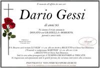 Necrologio di Dario Gessi