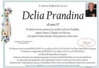 Necrologio di Delia Prandina