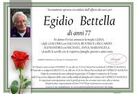 Necrologio di Egidio Bettella