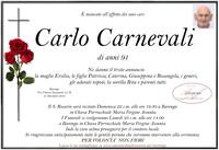 Necrologio di Carlo Carnevali