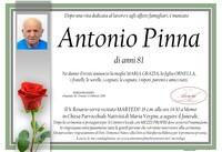 Necrologio di Antonio Pinna