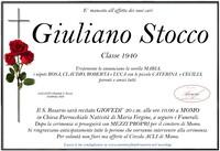 Necrologio di Giuliano Stocco