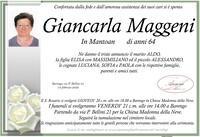 Necrologio di Giancarla Maggeni in Mantoan
