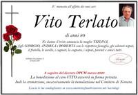 Necrologio di Vito Terlato