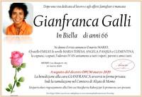 Necrologio di Gianfranca Galli