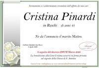 Necrologio di Cristina Pinardi