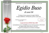Necrologio di Egidio Buso