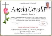 Necrologio di Angela Cavalli in Maiello