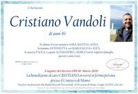 Necrologio di Cristiano Vandoli