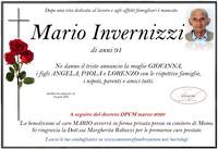 Necrologio di Mario Invernizzi