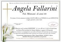 Necrologio di Angela Fallarini ved. Monzani