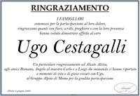 Ringraziamento per Cestagalli Ugo