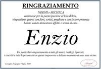 Ringraziamento per Enzio Mazzoni