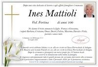 Necrologio di Ines Mattioli ved. Fortina