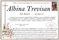 Necrologio di Albina Trevisan