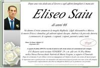 Necrologio di Eliseo Saiu