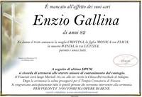 Necrologio di Enzio Gallina