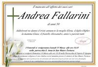 Necrologio di Andrea Fallarini