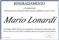 Ringraziamento per Mario Lonardi
