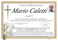 Necrologio di Mario Caletti