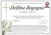 Necrologio di Delfina Bogogna ved. Monina