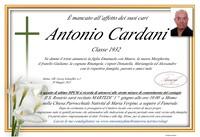 Necrologio di Antonio Cardani