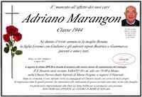 Necrologio di Adriano Marangon