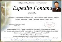 Necrologio di Espedito Fontana