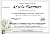 Necrologio di Maria Palermo