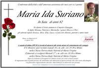 Necrologio di Maria Ida Suriano