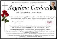 Necrologio di Angelina Cardani ved. Casagrande
