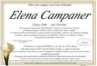Necrologio di Elena Campaner ved. Trevisan