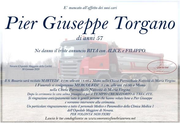 Necrologio di Pier Giuseppe Torgano