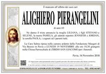 Necrologio di ALIGHIERO PIERANGELINI