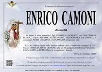 Necrologio di CAMONI ENRICO