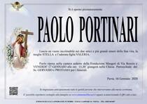 Necrologio di PORTINARI PAOLO