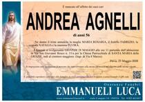 Necrologio di AGNELLI ANDREA