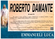Necrologio di DAMANTE ROBERTO