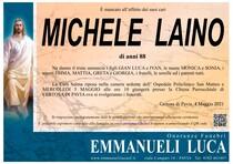Necrologio di LAINO MICHELE