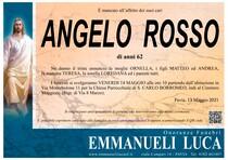 Necrologio di ROSSO ANGELO