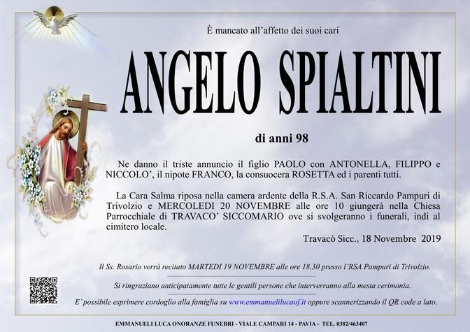 Necrologio di SPIALTINI ANGELO