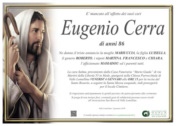 Necrologio di Eugenio Cerra