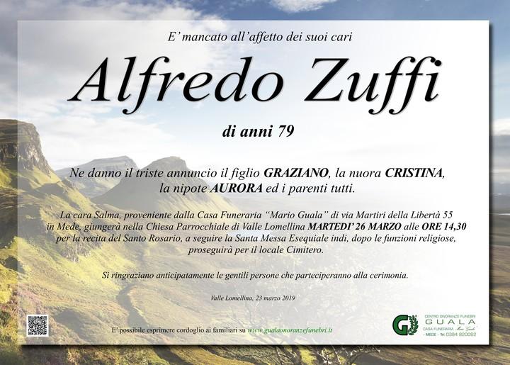 Necrologio di Alfredo Zuffi