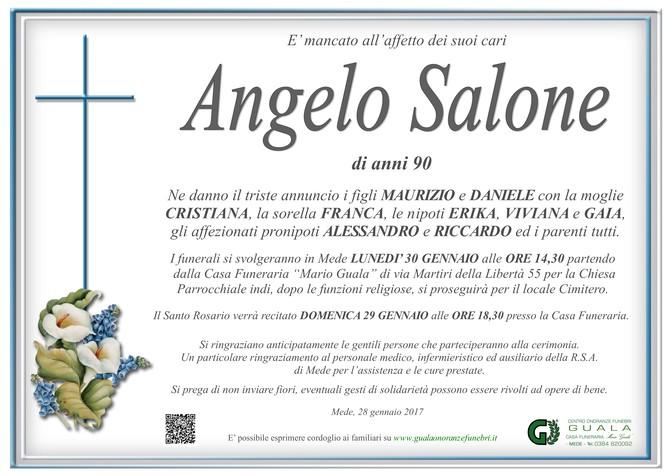 Necrologio di Angelo Salone