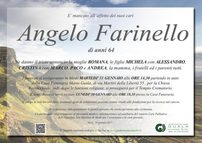 Necrologio di Angelo Farinello