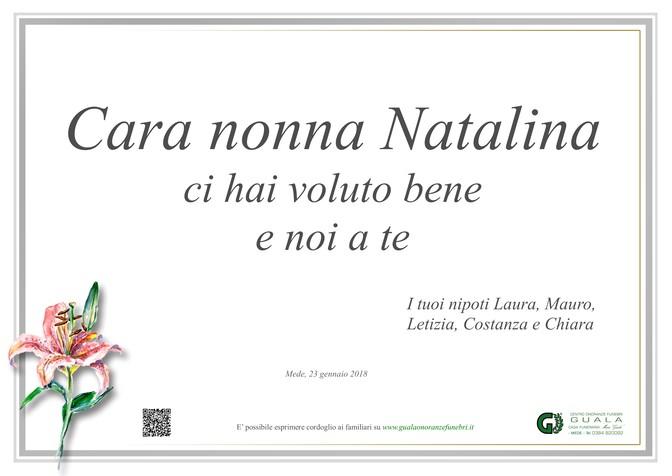 Necrologio di Partecipazione Natalina Agnelli
