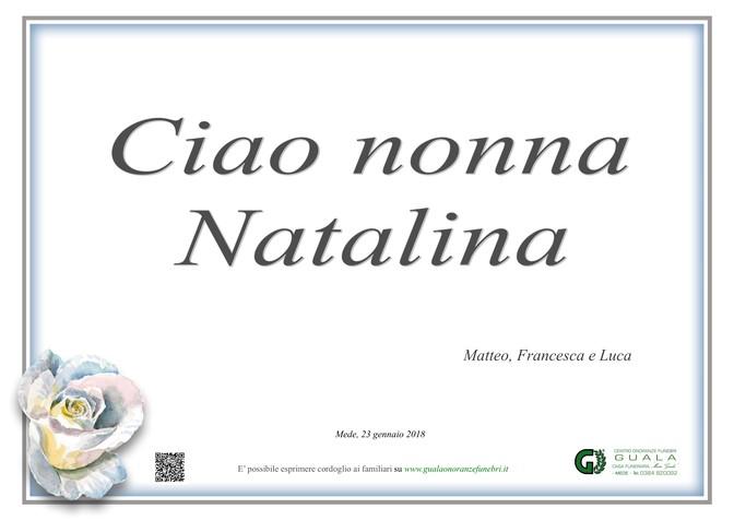 Ringraziamento per Partecipazione Natalina Agnelli